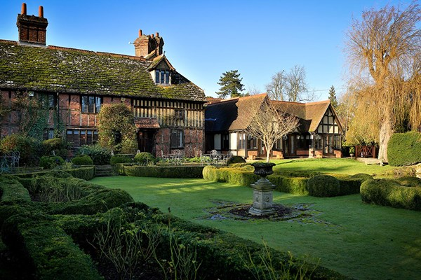 Luxury Overnight Escape with Dinner for Two at Langshott Manor