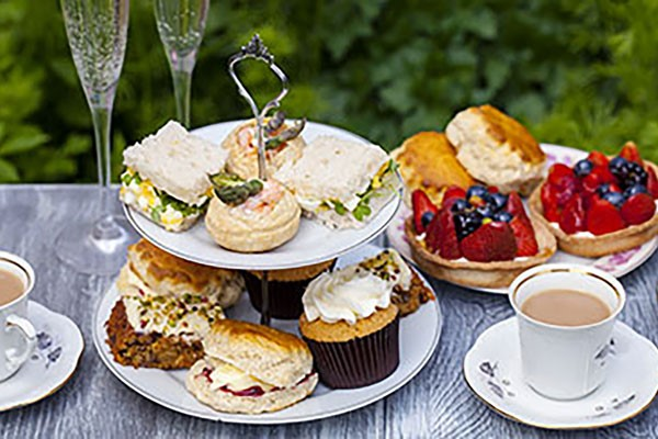 Afternoon Tea with a Glass of Champagne for Two at Lion Quays Resort