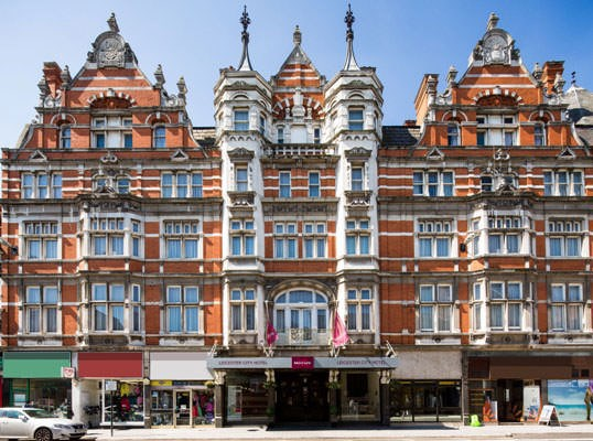One Night Break with Dinner at Mercure Leicester The Grand Hotel