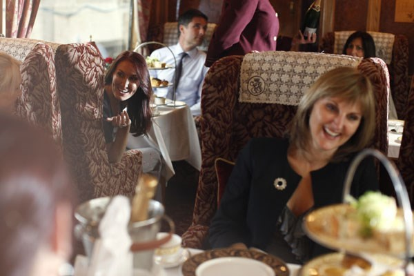 Afternoon Tea for One on the Northern Belle