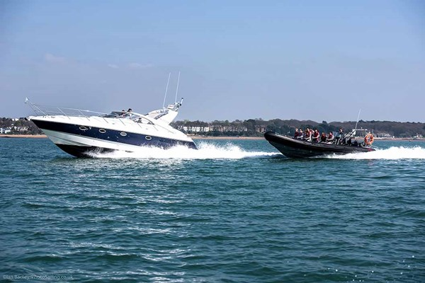 Powerboat Stunt Ride Experience for Two