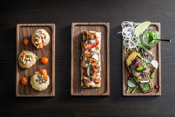 5 Course Sharing Street Food Menu With Green Spice Martinis For Two At Benares