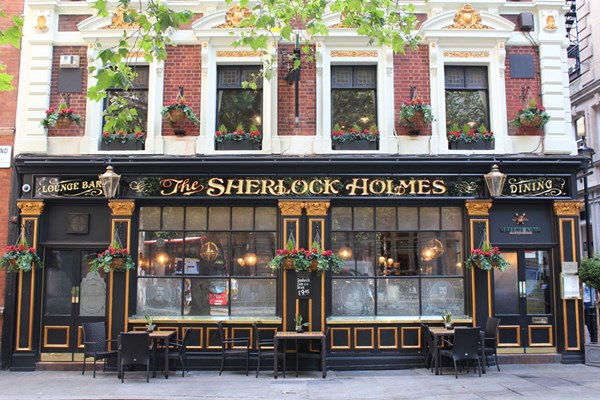 Sherlock Holmes Walking Tour of London