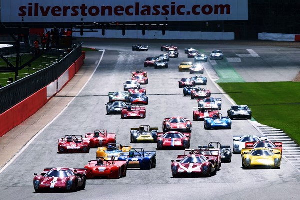 Silverstone Classic 2019 - Friday 26th July Tickets for Two