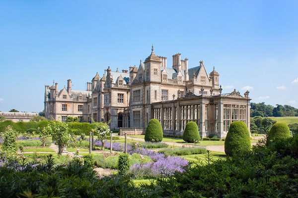 Prosecco Afternoon Tea for Two at Stoke Rochford Hall