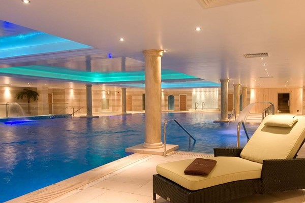 Spa Day and Lunch with a Glass of Prosecco at Lion Quays Resort for Two