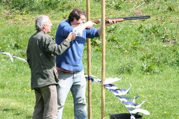 Clay pigeon shooting bristol area