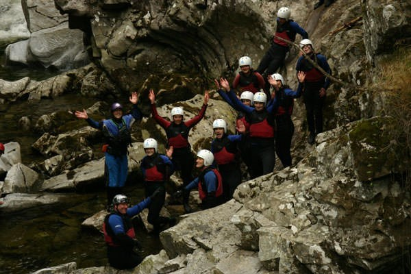Canyoning Experience in Scotland