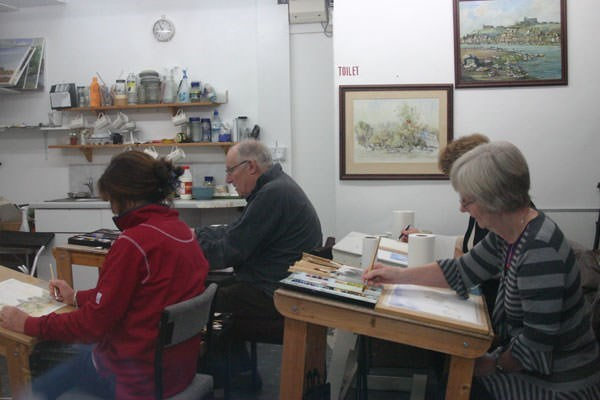 Watercolour painting workshop from buyagift for Extra mural classes
