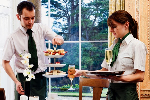 Champagne Afternoon Tea for Two at Cricket St Thomas Hotel