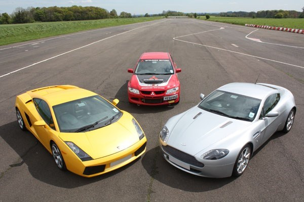 Junior Double Supercar and Rally Driving Thrill