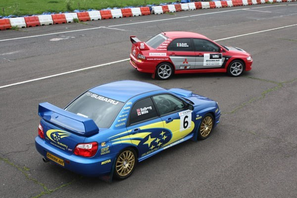 Junior Triple Supercar and Rally Driving Thrill