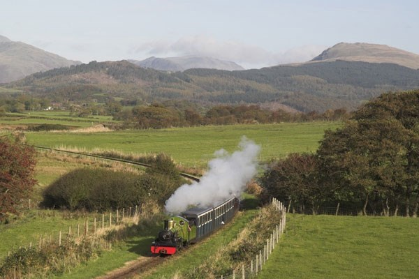 Private Hire of Eskdale Belle or The La'aL Ratty Coach for Two