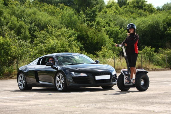 Two Supercar Drive And Off Road Segway Day