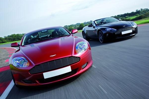 Aston Martin Driving Blast