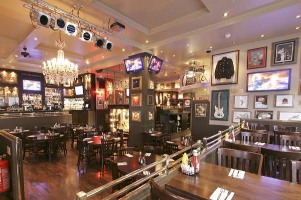 Three Course Meal and Drinks for Two at The Hard Rock Cafe