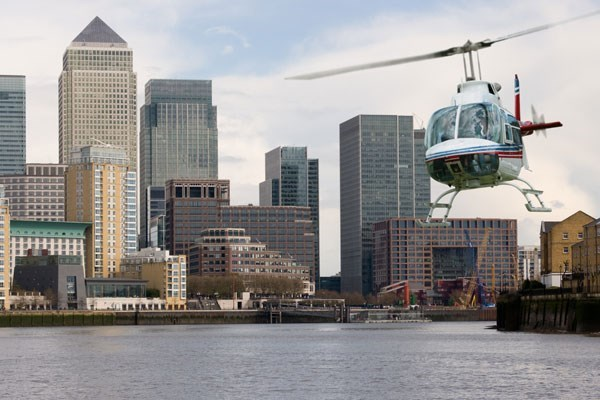 Helicopter Tour Over London For Two