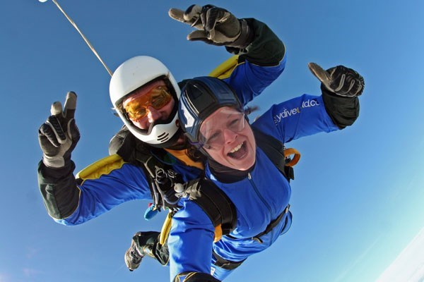 Beginner's Tandem Skydive in Devon