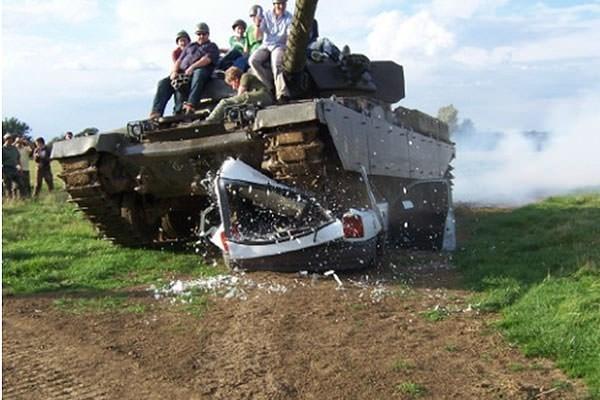 Full Monty Tank Day
