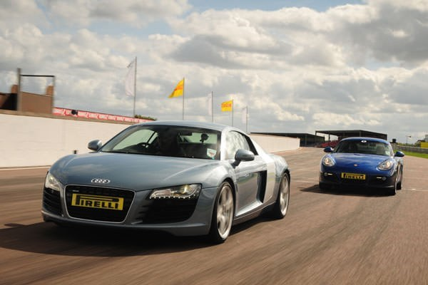 Porsche Vs Audi R8 Driving Experience At Thruxton