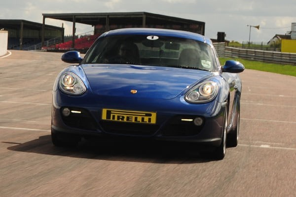Porsche Cayman Driving Thrill at Thruxton