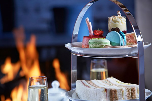 Champagne Afternoon Tea for Two at Barnett Hill Hotel