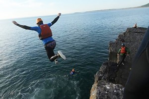 Coasteering For Two With Savage Adventures