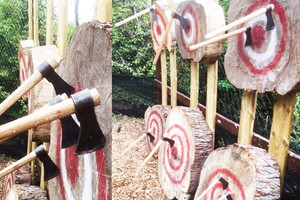 60 Minute Axe Throwing For Two