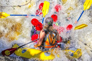 Two Hour Full White Water Rafting Session For Two