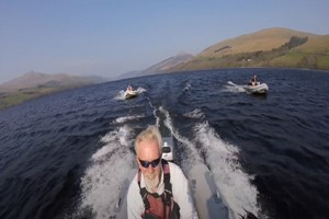 One Hour Powerboat Experience For Two With Legend Sailing