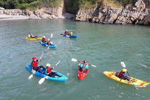 Sea Kayaking Or Coasteering Experience For Two With Activity Pembrokeshire