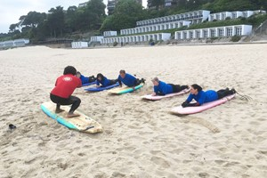 Surfboard Or Paddleboard Hire And Tuition At Shaka Surf Branksome For Two