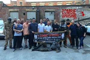 Zombie Uprising Survival Experience For Two