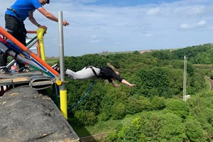 Double Bridge Bungee Jump In Whitby For One