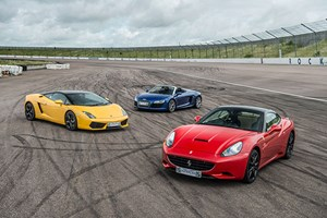 Triple Supercar Driving Blast with Free High Speed Passenger Ride - Week Round