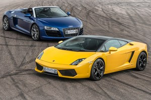 Double Supercar Thrill with Free High Speed Passenger Ride
