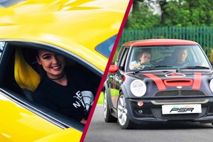30 Minute Junior Driving Lesson In A Mini Cooper And A Three Mile Supercar Blast For One
