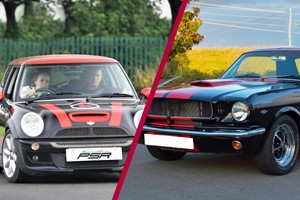 30 Minute Mini Cooper Junior Driving Lesson And Three Mile American Muscle Car Blast For One