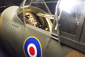 2 for 1 WW2 Spitfire and Messerschmitt Flight Simulator Experience