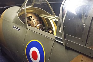 One Hour Spitfire Simulator Flight For One In Bedfordshire