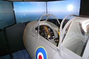 30 Minute Spitfire Simulator Flight For One In Bedfordshire