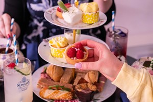 Buy Gin Afternoon Tea for Two at Brigit