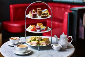 Afternoon Tea for Two at Café Rouge