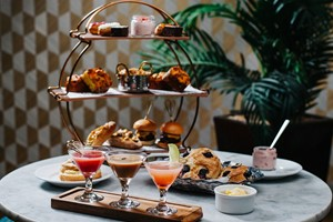 Cocktail Afternoon Tea For Two At All Star Lanes