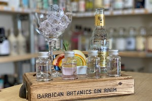 Buy Self Guided Gin Flight for Two at The Barbican Botanics Gin Room