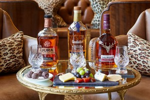 Whisky Experience With Sharing Dishes For Two At The Rubens At The Palace