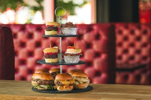 Burger Bites Superior Afternoon Tea for Two