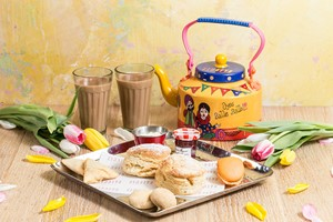 High Chai Afternoon Tea for Two at Zindiya Streatery and Bar