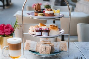 Afternoon Tea For Two At Caffe Concerto
