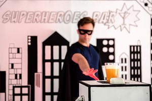 The Hero Cocktail Experience for Two at Superheroes Bar
